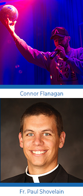 Lifeline, Connor Flanagan and Fr. Paul Shovelain