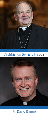 Lifeline, Archbishop Bernard Hebda, Fr. David Blume